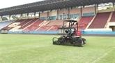 Phu Tho est prêt au match entre les équipes U23 du Vietnam et du Myanmar