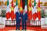 Vietnam - Italie: entretien entre les deux Premiers ministres
