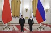 Chine - Russie: le président Xi Jinpingarrive à Moscou pour une visite d'État
