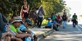 Mexique: 1.200 migrants centraméricains franchissent la frontière avec le Guatemala