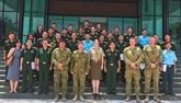 Coopération millitaire Vietnam - Australie pour le maintien de la paix