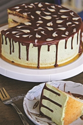 Gâteau à la crème au beurre de matcha