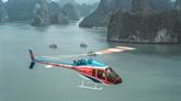 Nouvelle expériencede découvrir la baie de Ha Long en hélicoptère
