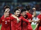 U23: le Vietnam bat le Myanmar 2-0 en match amical