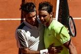 Federer emporté par Nadal et le vent, Djokovic et Thiem reprendront samedi 8 juin