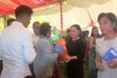 Binh Duong aux côtés des personnes pauvres à Kandal
