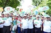 Lancement d'un mouvement national contre les déchets plastiques