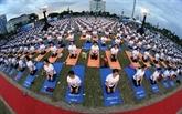 La 5e Journée internationale du Yoga célébrée à Dà Nang