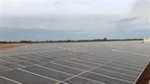 Inauguration de la centrale solaire LIG - Quang Tri