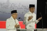 Joko Widodo officiellement désigné vainqueur de la présidentielle