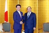 Nguyên Xuân Phuc reçoit les dirigeants de certaines localités japonaises