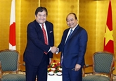 Nguyên Xuan Phuc reçoit les dirigeants de grands groupes japonais