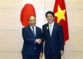 Vietnam - Japon: entretien entre les deux Premiers ministres
