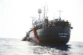 Quarante-quatre nouveaux migrants secourus par l'Alan Kurdi débarquent à Malte