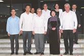 La vice-présidente vietnamienne Dang Thi Ngoc Thinh rencontre des dirigeants cubains