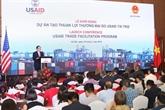 Lancement du projet de facilitation du commerce financé par l'USAID