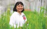 Une scientifique consacre sa vie aux variétés de riz