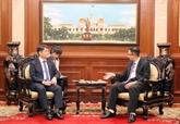 Hô Chi Minh-Ville renforce la coopération multiforme avec la République de Corée