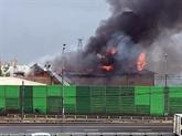 Un mort et 13 blessés dans l'incendie d'une centrale thermique près de Moscou