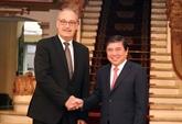 Hô Chi Minh-Ville renforce sa coopération avec la Suisse