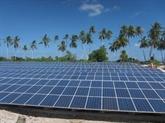 La première centrale solaire à Binh Dinh inaugurée