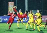 La sélection vietnamienne se classe au 35e rang mondial