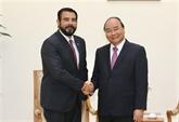 Le Premier ministre reçoit l'ambassadeur du Panama