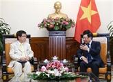 Pham Binh Minh reçoit un responsable japonais