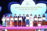 Remise du Prix du tourisme du Vietnam 2019