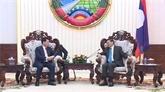 Le Premier ministre laotien salue la coopération entre les polices vietnamienne et laotienne