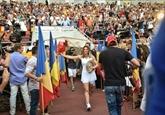 Tennis: des milliers de Roumains acclament Simona Halep, victorieuse à Wimbledon