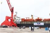 Binh Thuân: le port international de Vinh Tân accueille le premier navire étranger