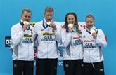 La France seulement 6e du relais mixte en eau libre, l'Allemagne sacrée
