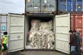 Le Cambodge renvoie 83 conteneurs de déchets plastiques aux États-Unis et au Canada