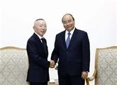 Le Premier ministre vietnamien reçoit le PDG du groupe japonais Fast Retailing