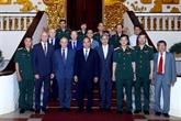 Rencontre avec des experts pour l'évaluation de l'état du corps du Président Hô Chi Minh