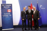 Signature de plusieurs accords de partenariat Canada - UE