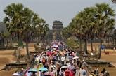Le nombre de touristes étrangers à Angkor en baisse