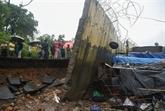Mousson en Inde: 15 morts dans l'écroulement d'un mur à Bombay