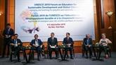 Débat sur l'éducation au développement durable et à la citoyenneté mondiale