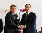 Le secrétaire national du PCF en visite à Hô Chi Minh-Ville