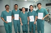 """La technique de thyroïdectomie endoscopique """"Dr. Luong"""" dans le Guiness"""