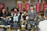 Deux personnes lourdement handicapées élues au Sénat du Japon