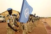 Mali: 250 casques bleus britanniques viennent renforcer la MINUSMA