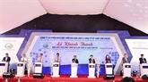 Inauguration de la plus grande centrale solaire de Khanh Hoà