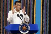 Le président philippin poursuit sa lutte contre les drogues et la corruption