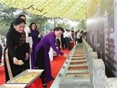 La présidente de l'Assemblée nationale à Tây Ninh