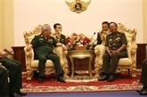 Vietnam - Cambodge: approfondir la coopération dans la défense