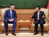 Pham Binh Minh reçoit une délégation russe