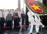 La présidente de l'AN rend hommage aux morts pour la Patrie